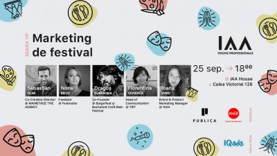 Seara YP dedicată Marketingului de Festival se întoarce cu o nouă ediţie pentru a raspunde cererii mari din partea participanţilor