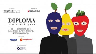 DIPLOMA 2018 prezintă publicului larg 129 de lucrări ale absolvenților de facultăți creativ-vocaționale din toată țara