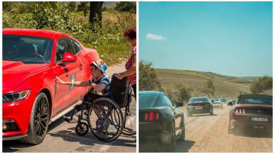 Ford Mustang si visul unui pusti din Dolj