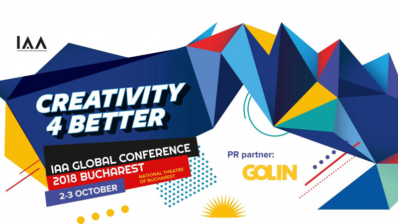 Golin susține conferința Globală IAA Creativity4Better printr-un parteneriat strategic cu IAA România