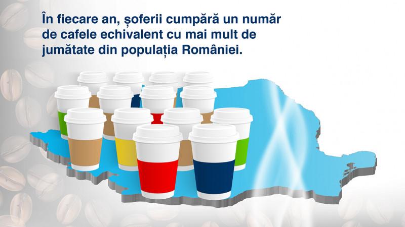 Cafeaua Americano to go, preferata festivalierilor