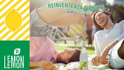 Într-o vară Very Very Lemon Lemon, Golin și limonada Lemon Lemon au oferit un twist efervescent conceptului de picnic urban