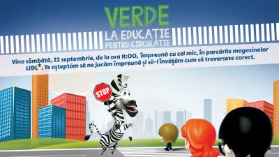 Lidl și Poliția Română organizează a șasea ediție a campaniei naționale pentru siguranță copiilor: Verde la educație pentru circulație