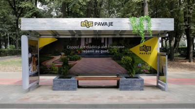 Stația care se integrează plăcut în peisajul Copoului, la Iași