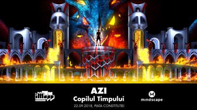 Mindscape Studio participă la iMapp 2018 cu video mapping-ul AZI - COPILUL TIMPULUI