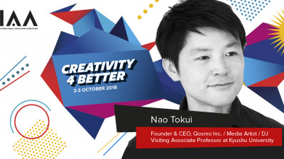 "Entertainmentul întâlnește inteligența artificială pe scena Teatrului Național București. Nao Tokui, un artist media din Japonia, vine la IAA Global Conference ""Creativity 4 Better"""