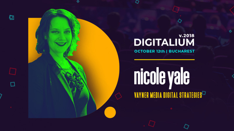 The Global Account Director of GARY VAYNERCHUK's Digital Agency is coming to ROMANIA to teach DIGITAL STRATEGY