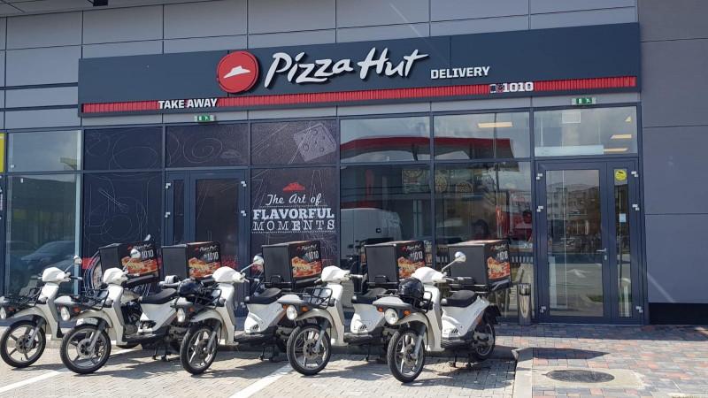 Extinderea Pizza Hut Delivery continuă cu cea de-a doua unitate din Braşov, cu o investiţie de 280.000 de euro