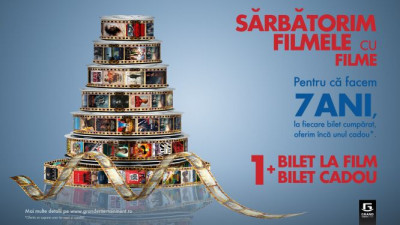 Grand Cinema & More aniversează 7 ani de filme și evenimente culturale memorabile