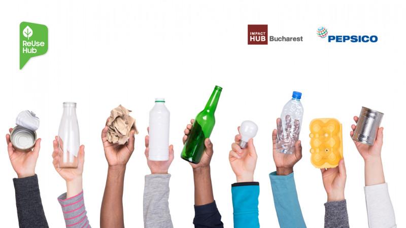 Impact Hub și PepsiCo anunță finaliștii programului ReUse Hub