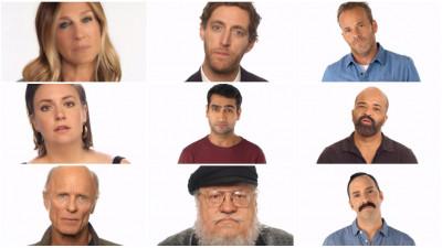 De ce s-au adunat toți oamenii ăștia celebri să tacă împreună?