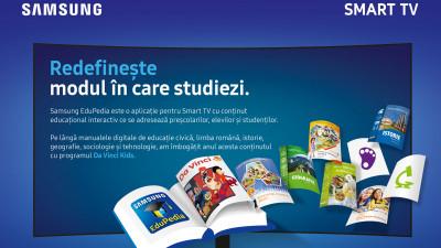 Samsung EduPedia™ aduce noi emisiuni interactive pentru copii în aplicație, prin parteneriatul cu Da Vinci Kids