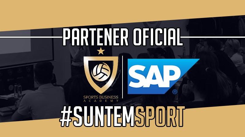 SAP, liderul de piaţă în domeniul soluţiilor software de business, devine noul partener al Sports Business Academy