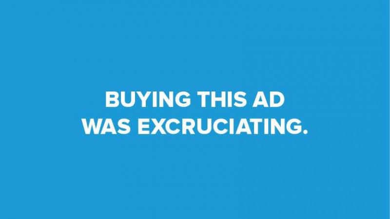 Puțină sinceritate, cât să dea bine într-o reclamă