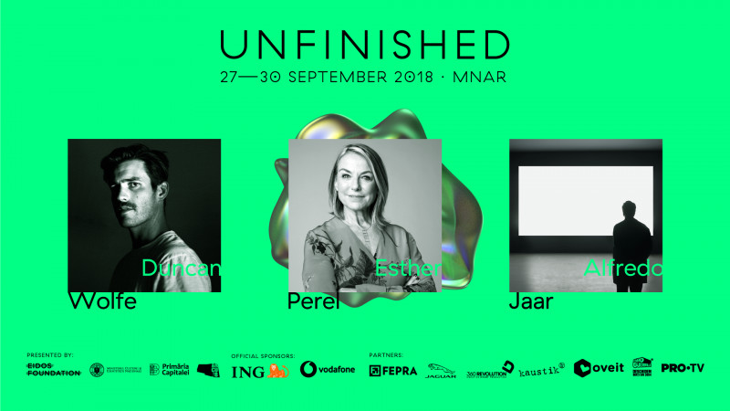 Esther Perel, psihoterapeut și autor în topul New York Times, se alătură UNFINISHED 2018