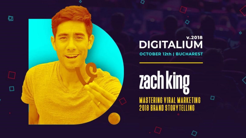 The MASTER of VIDEO VIRAL MARKETING is coming to ROMANIA at DIGITALIUM