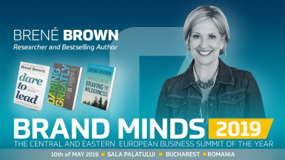 Brené Brown in BUCHAREST - EARLY BRAND ends on 1st of November