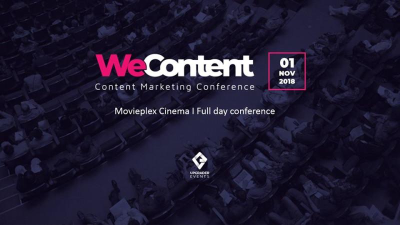 WeContent reunește speakeri de top din România și UK, într-un eveniment dedicat conținutului online