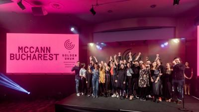 McCann Worldgroup Romania desemnată AGENCY OF THE YEAR la Festivalul Golden Drum pentru a 5-a oară
