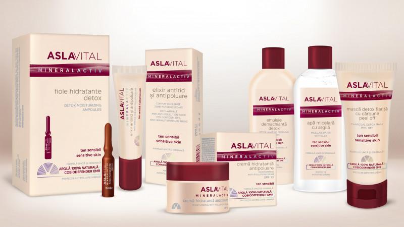 Brand New semnează designul de ambalaj pentru noua gamă ASLAVITAL MINERALACTIV