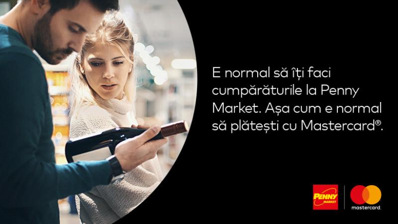 Mastercard și Penny Market – Împreună, pentru prima dată, într-o campanie dedicată plăților electronice din magazine