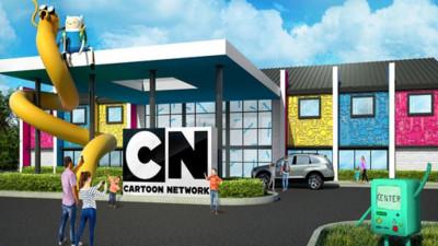 Sa faceti rezervare din timp daca vreti camera la hotelul Cartoon Network