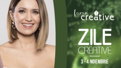 Ela Crăciun participă la Zile Creative, eveniment dedicat antreprenoriatului creativ