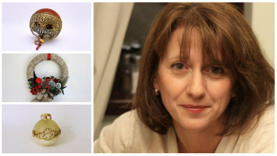 """Mihaela Ionescu (artist handmade): """"Cea mai mare problema au fost materialele de calitate. In primii ani, aruncam o treime din ce cumparam"""""""