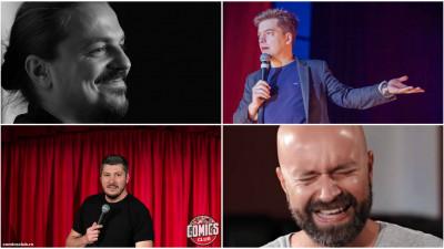 4 comedianți-patroni au planuri mari cu Comics Club