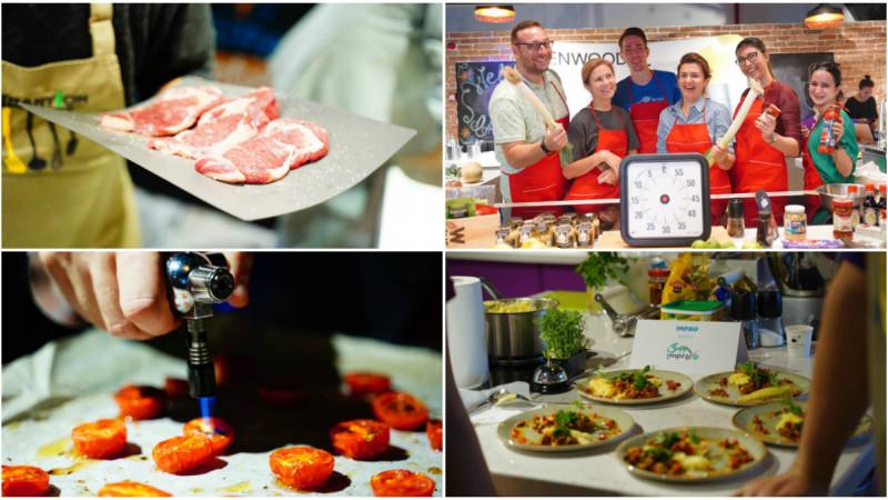 Cupa Agențiilor la Gătit by Selgros s-a lăsat cu multă improvizație, integrată de altfel și într-o probă specială
