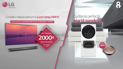 LG şi INTERACTIONS îţi prezintă noile promoţii din agregatorul de campanii