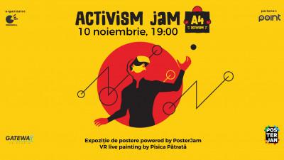 Artivism Jam, expoziție de postere powered by PosterJam