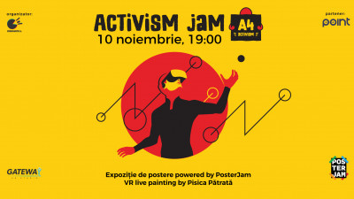 Artivism Jam, expoziție de postere powered by PosterJam