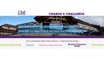 Change & Challenge – conferinţa despre reconfigurarea pieţei bunurilor de larg consum, la Club Retail 2018