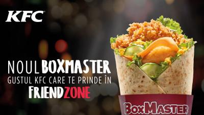 New entry în meniul KFC: BoxMaster, noul wrap, disponibil acum și în restaurantele din România