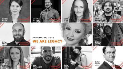 TEDxConstanța 2018 - We are legacy! - Line-up complet