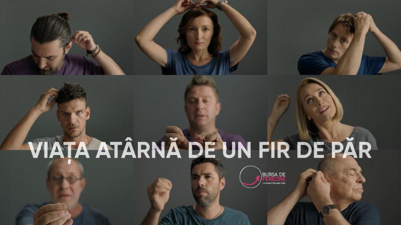 Viața copiilor bolnavi de cancer din România atârnă de un fir de păr. O campanie Dăruiește Viață cu sprijinul Ogilvy România