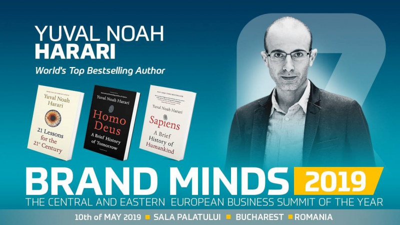 YUVAL HARARI in BUCHAREST - Last days of EARLY BRAND