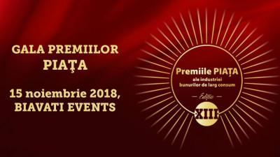 34 de companii câştigă trofee la Premiile PIAŢA 2018