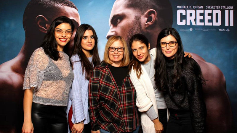Lansarea filmului Creed II a avut loc în România în stil Hollywood