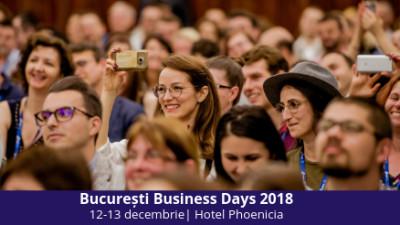 Cei mai cunoscuți oameni de business și programul 1NSPIRING vin la București Business Days 2018