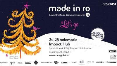 Târgul Made in RO – Concentrat fin de design contemporan. Cadourile de design se aleg din timp