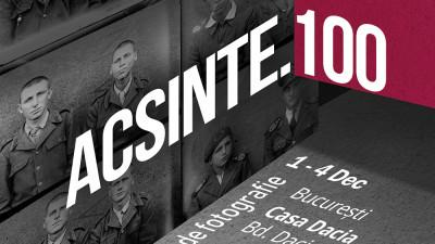 De Ziua Națională a României, ACSINTE.100, expoziția de fotografie, se deschide la Casa Dacia