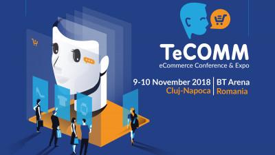 Roboți humanoizi și produse din viitorul comerțului online, la TeCOMM Cluj 2018
