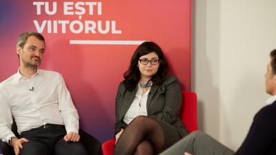 """""""Tu ce vei face mâine?"""". O conversație lansată pe turnul BRD din București"""