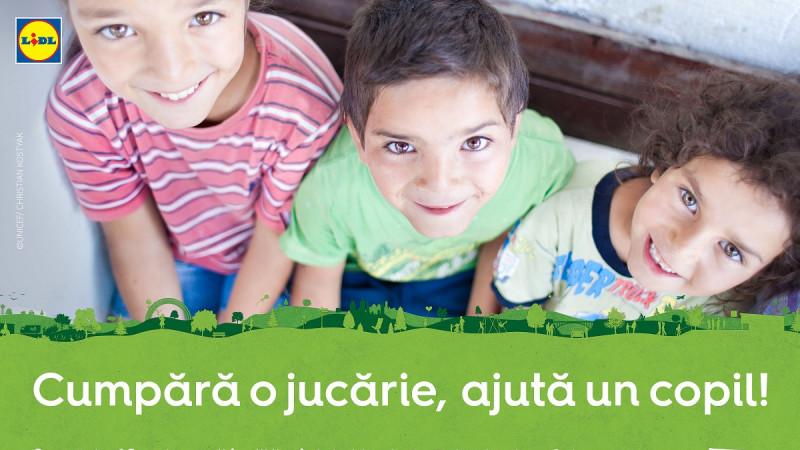 Lidl susține accesul la educație de calitate pentru copiii vulnerabili printr-o nouă campanie derulată în parteneriat cu UNICEF în România