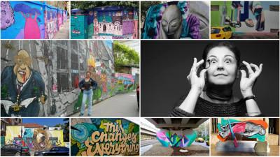 "Colectia de street art a unui om obisnuit. ""Daca tot te deplasezi din punctul A in punctul B, poti umbla cu ochii deschisi si «street-aware»"""
