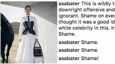 Jennifer Lawrence și Dior, acuzate de insensibilitate culturală