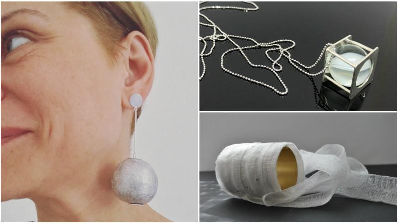 [fresh x design] Tana Enedi (Life in Mono): Am experimentat cu bandaje de tifon, cu plută, cu bucăți de lavă culese de pe plajele din Islanda sau cu staniol alimentar