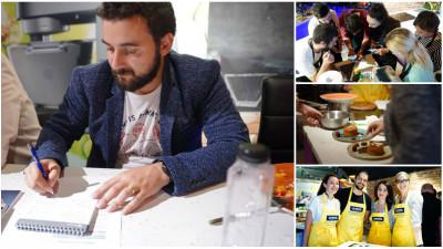 """Impresii de jurat cu 50 de preparate degustate la activ. Andrei Madan (Flanco): """"Le doresc echipelor sa nu-si piarda pasiunea de a gati spectaculos"""""""